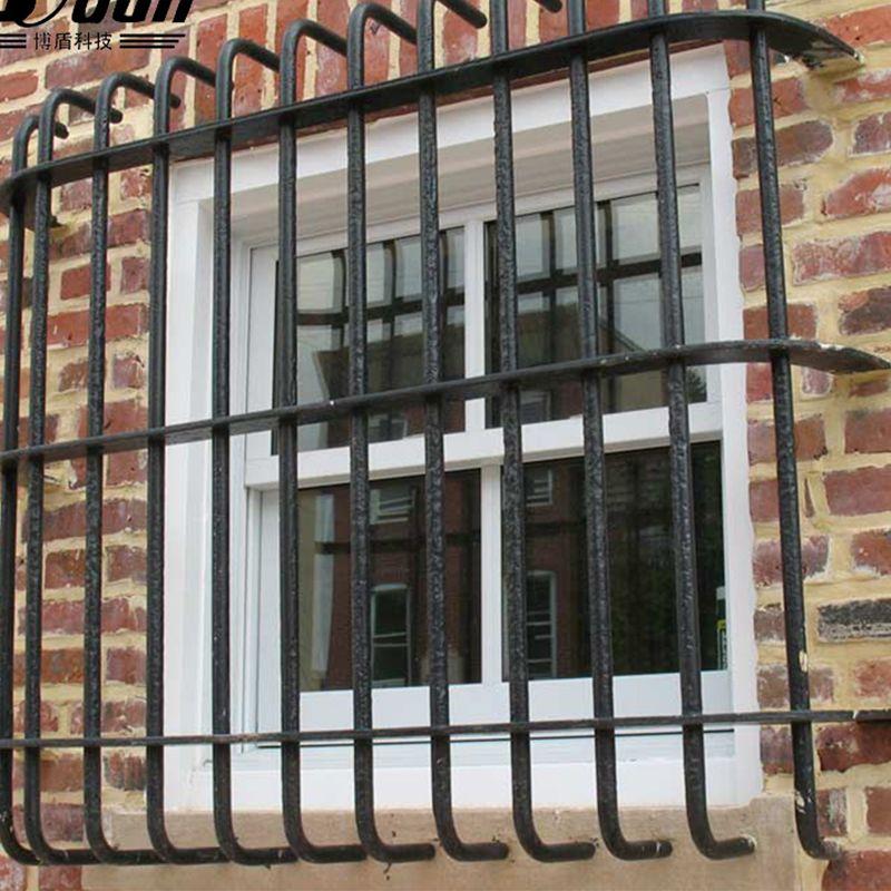 Simple Modern Fancy Steel Iron Window Grill Design For Balcony