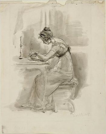 Image result for jane austen writing