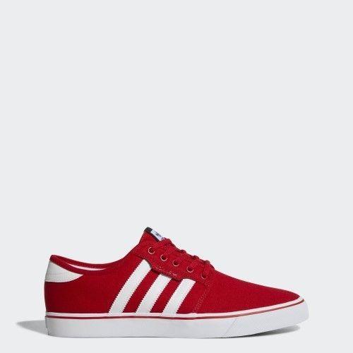 adidas AQ8529: Originals Seeley MEN Skate Shoes RED (8.5 D(M) US