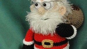 Santa Claus Made Amigurumi