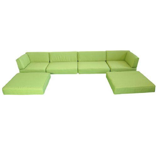 Outsunny 7pc Outdoor Sofa Chaise Lounge Sectional Replacement