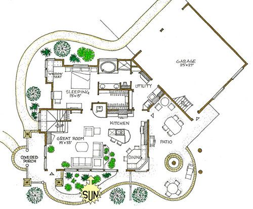 Pin By Gloria Godfrey On Homes Building Plans House Contemporary House Plans House Plans