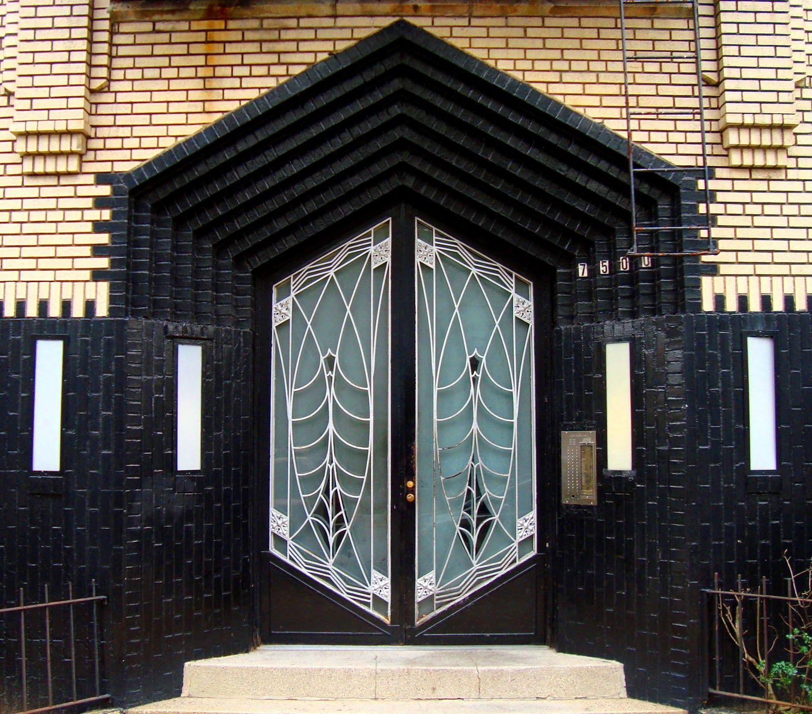 Doorway in Brooklyn   Art deco door, Art deco buildings, Art deco