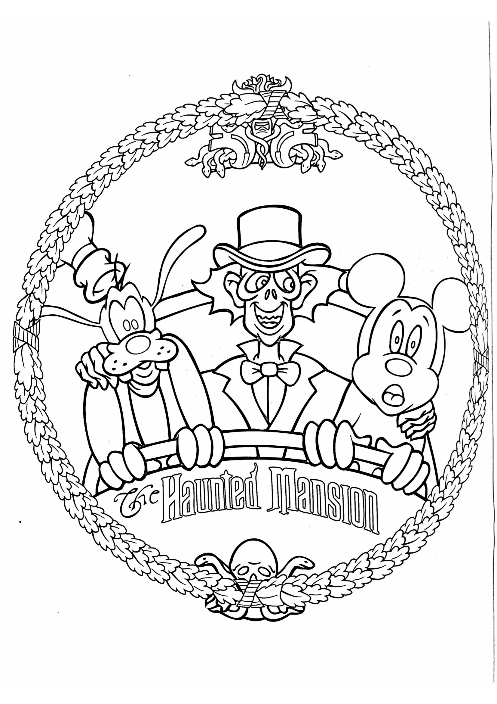 How To Rock A Disney Day At Home Gone With The Twins Halloween Coloring Pages Disney Halloween Coloring Pages Free Halloween Coloring Pages