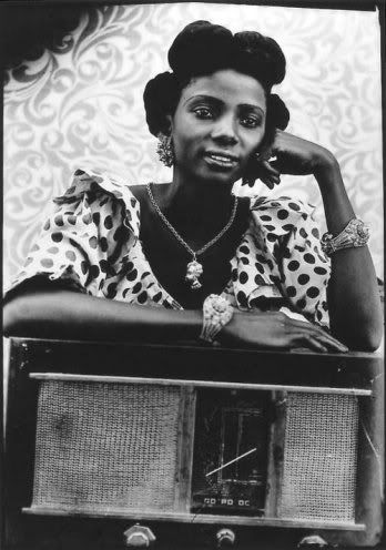 black woman vintage