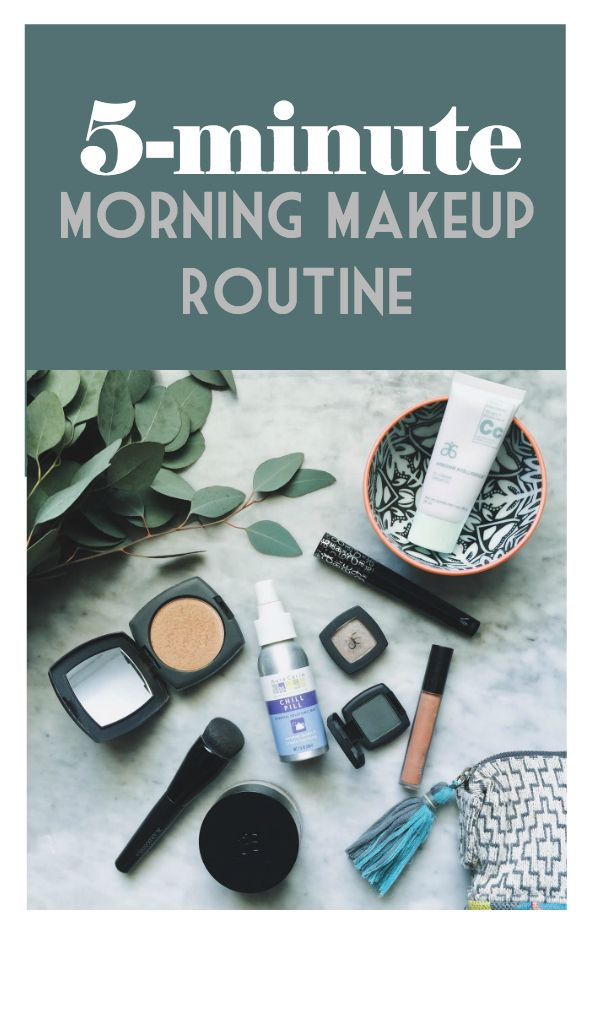 Love this list of natural skincare products that this blogger uses for her simple morning routine.  Love the colors.