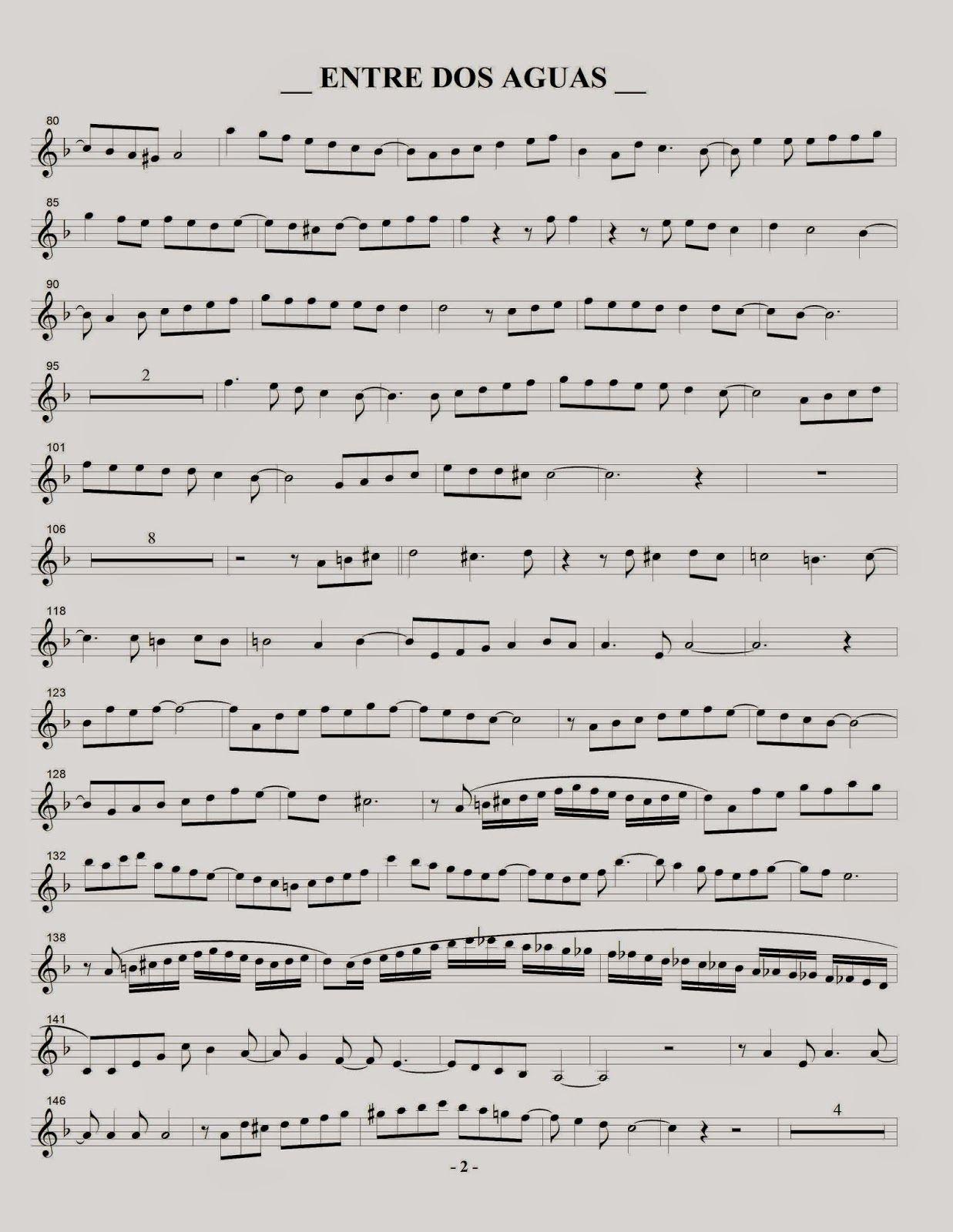 Paco Vargas Saxofonista Entre Dos Aguas Francisco Vargas Partituras Melodías