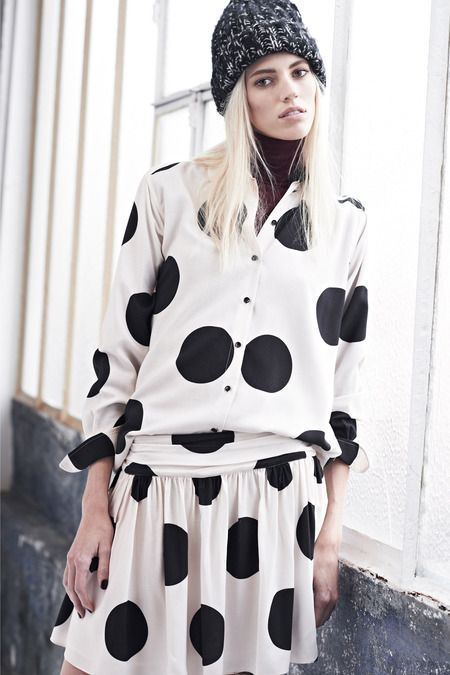 Paul & Joe Pre-Fall 2014, polka dots
