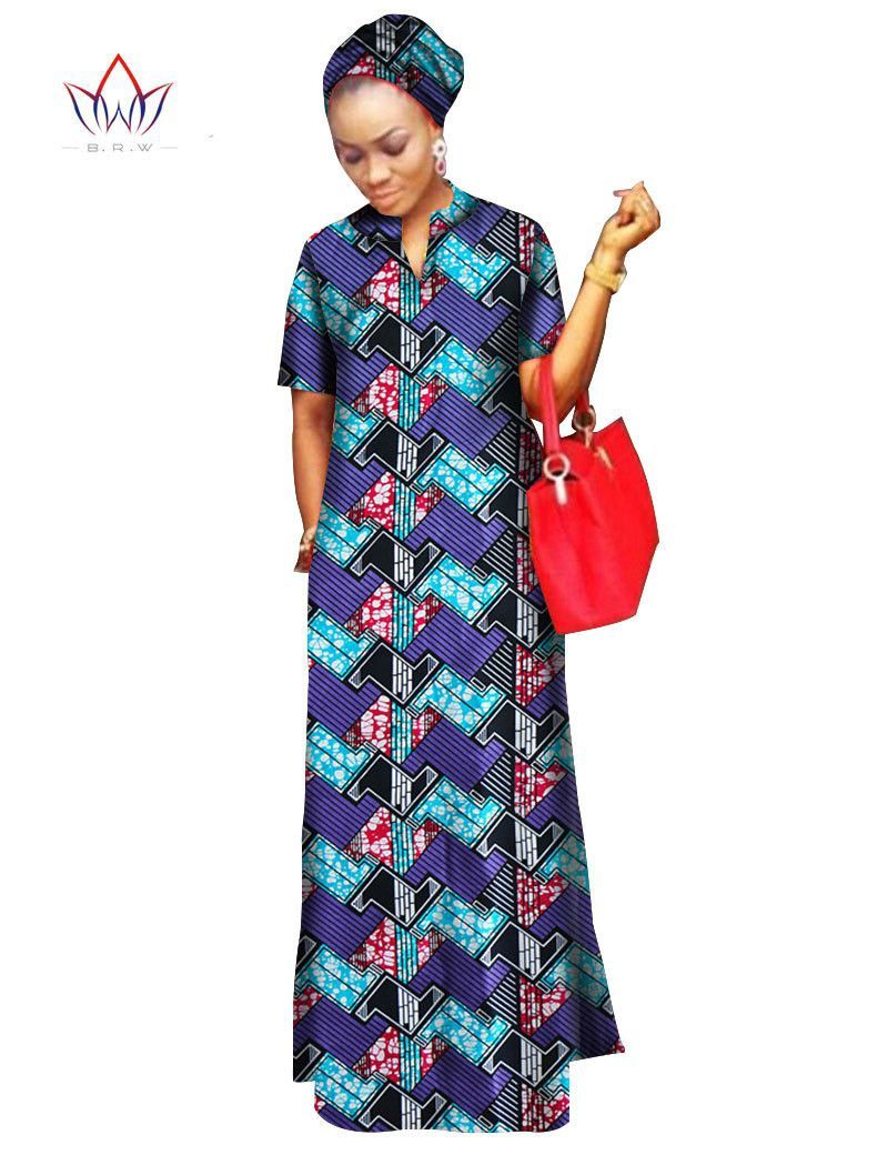 african styles clothing women riche bazin straight cotton