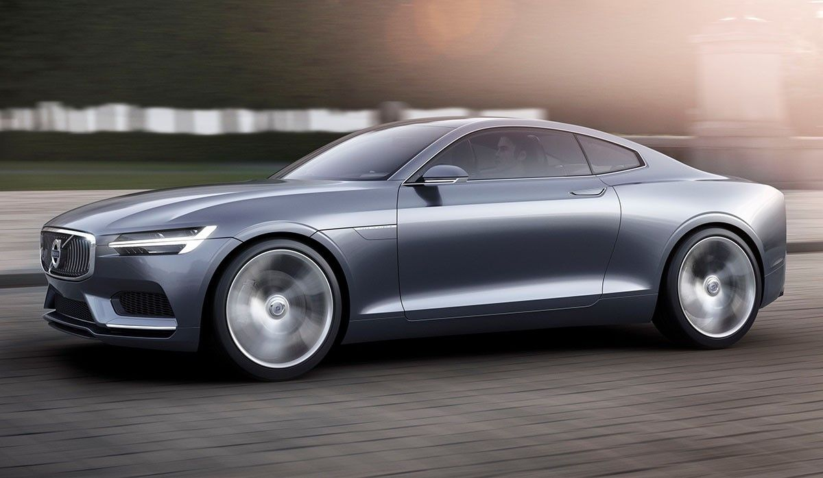 Volvo Concept Coupé, le trait d'union entre l'occident et l'Asie.