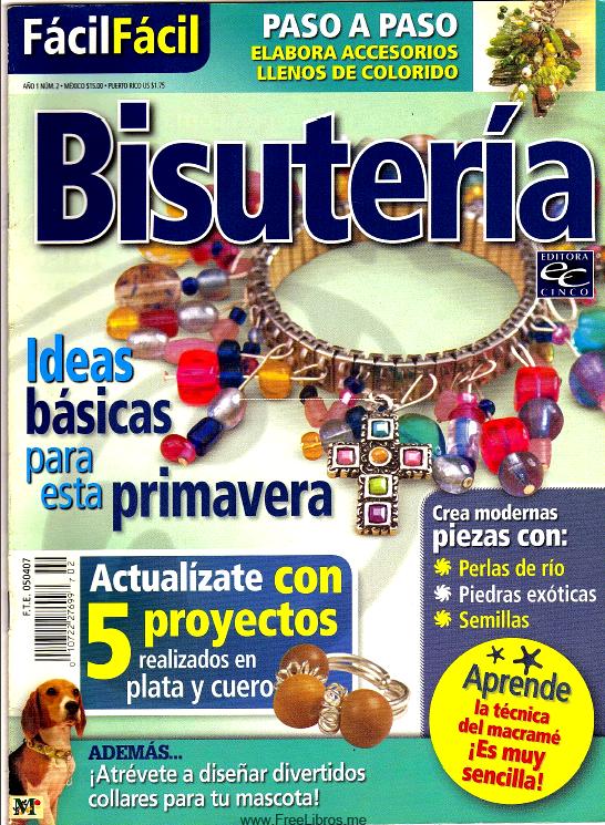 fbd56889af2e Cursos y tutoriales para manualidades  Revista de Bisuteria gratis ...