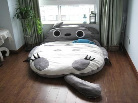 Totoro Bed | Kids' Furniture That Really Should Come In Adult Sizes