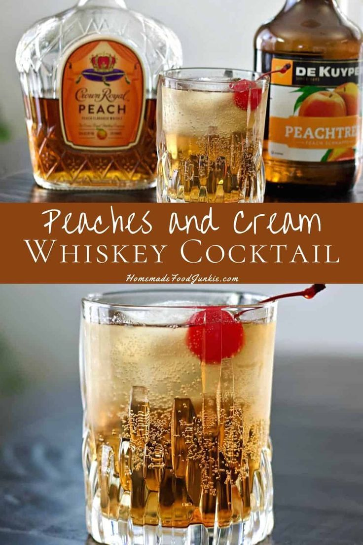 Photo of Crown Royal Peaches and Cream Whiskey Drink Recipe