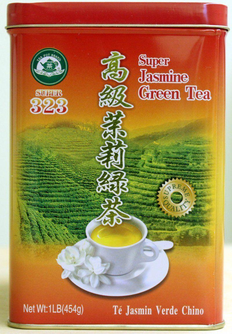 Tea Pot Brand Super Jasmine Green Tea, 454g >>> Read more