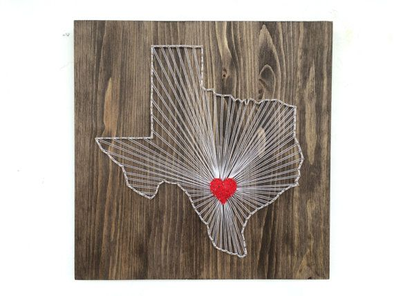 Awesome Texas String Art States Decor Texas Wall Art Home By OneRoots