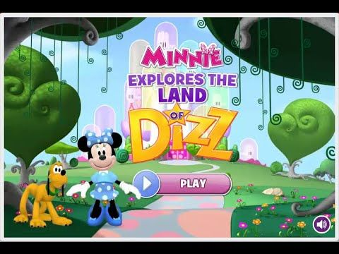 Mickey Mouse Clubhouse - Minnie's the Wizard of Dizz - Minnie's Explores The Land of Dizz Game