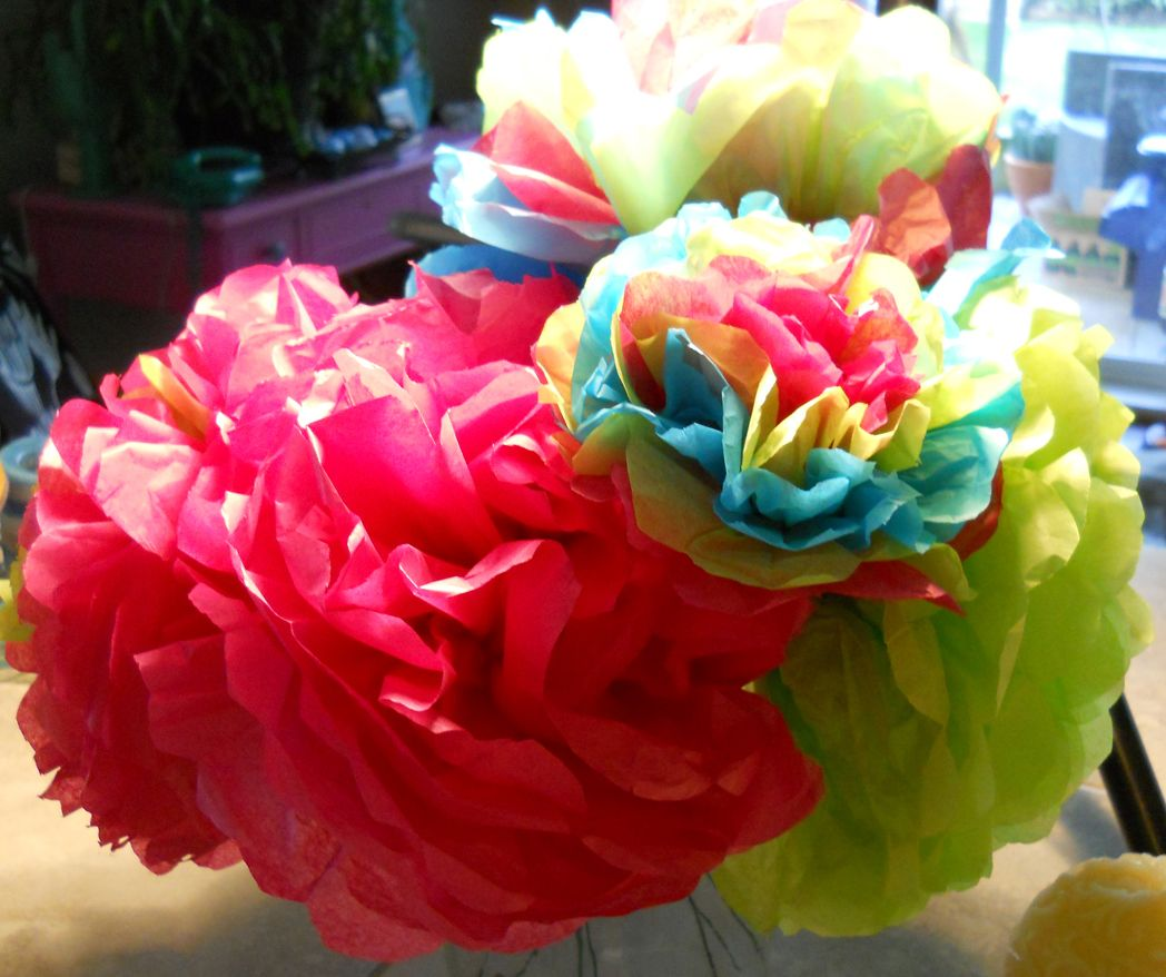 Paper blooms mexican style tissue flowers mexicans and flower paper blooms mexican style tissue flowerscraft mightylinksfo