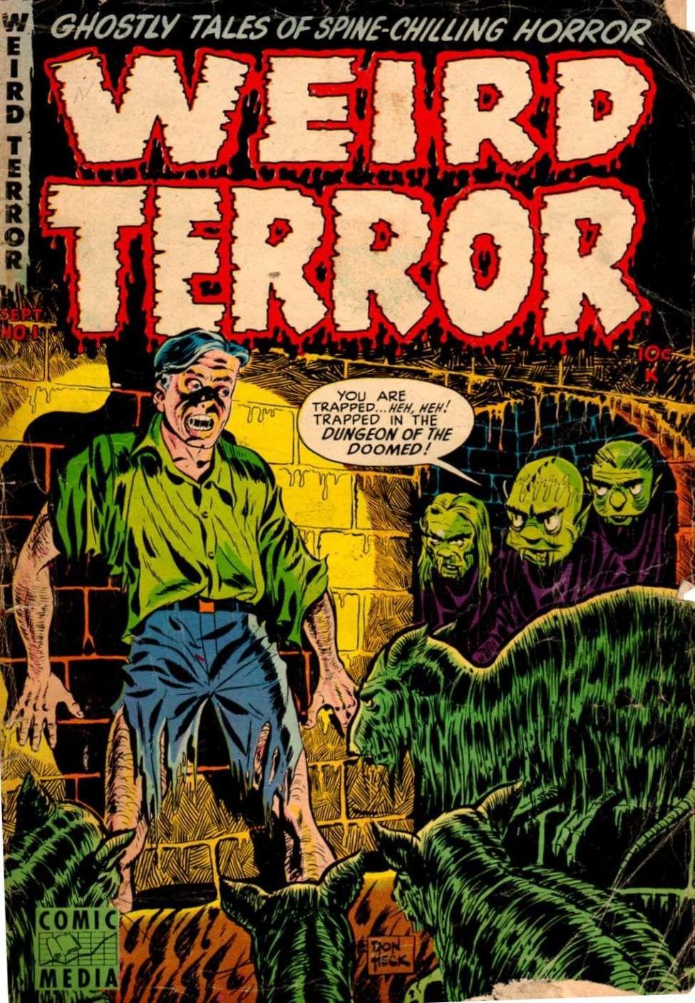 Comic Book Cover For Weird Terror #1