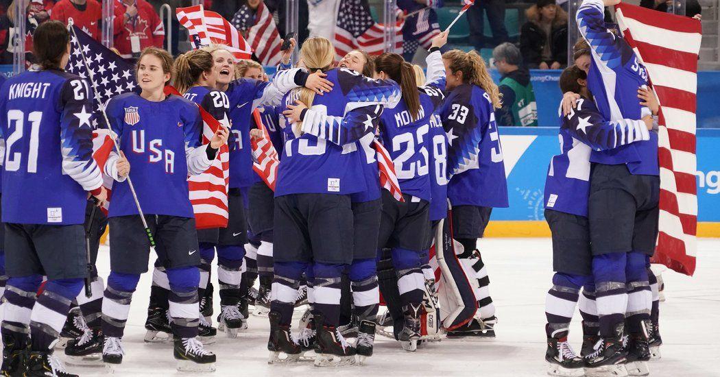 U.S. Women Break Canada's Grip on Hockey Gold The New