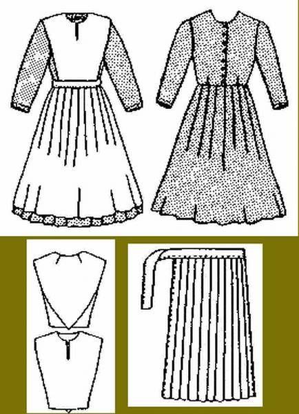 Amish Women Dress Pattern Free Download List Amish Dolls Doll Patterns Crochet