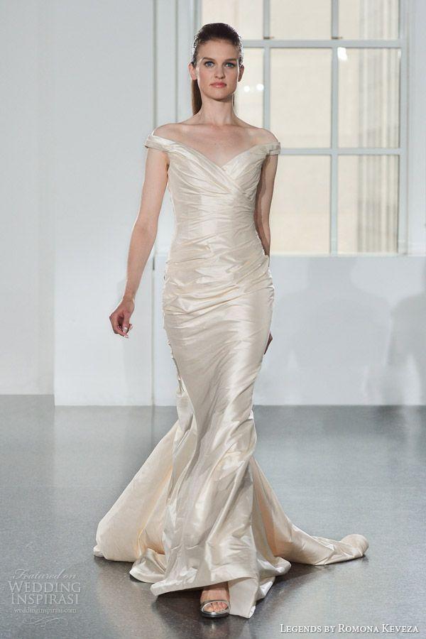 Legends by Romona Keveza Fall 2014 Wedding Dresses | Color wedding ...