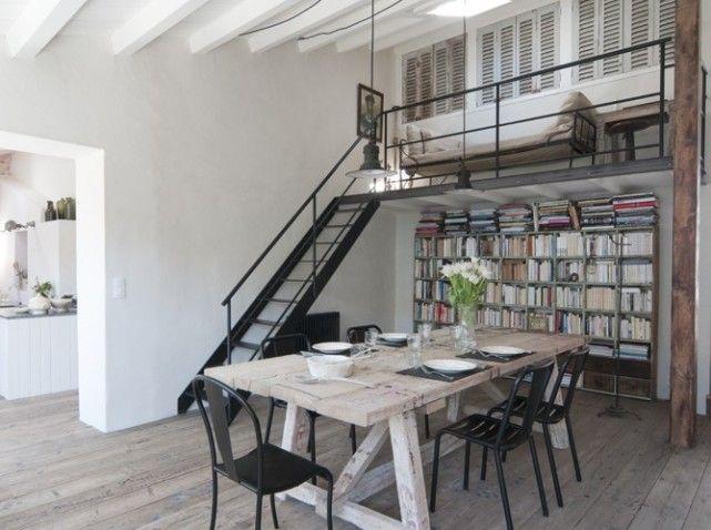 Esprit Loft A L Ile De Re Elle Decoration One Bedroom With