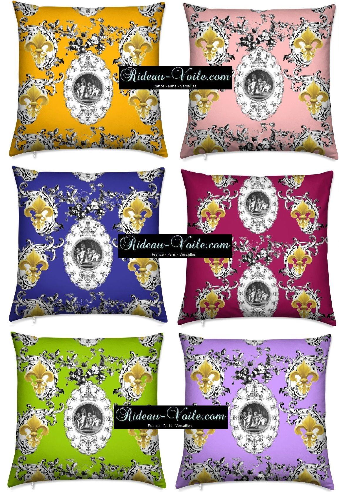Fleur De Lys Boutique Tissu Décoration Agencement Style Empire