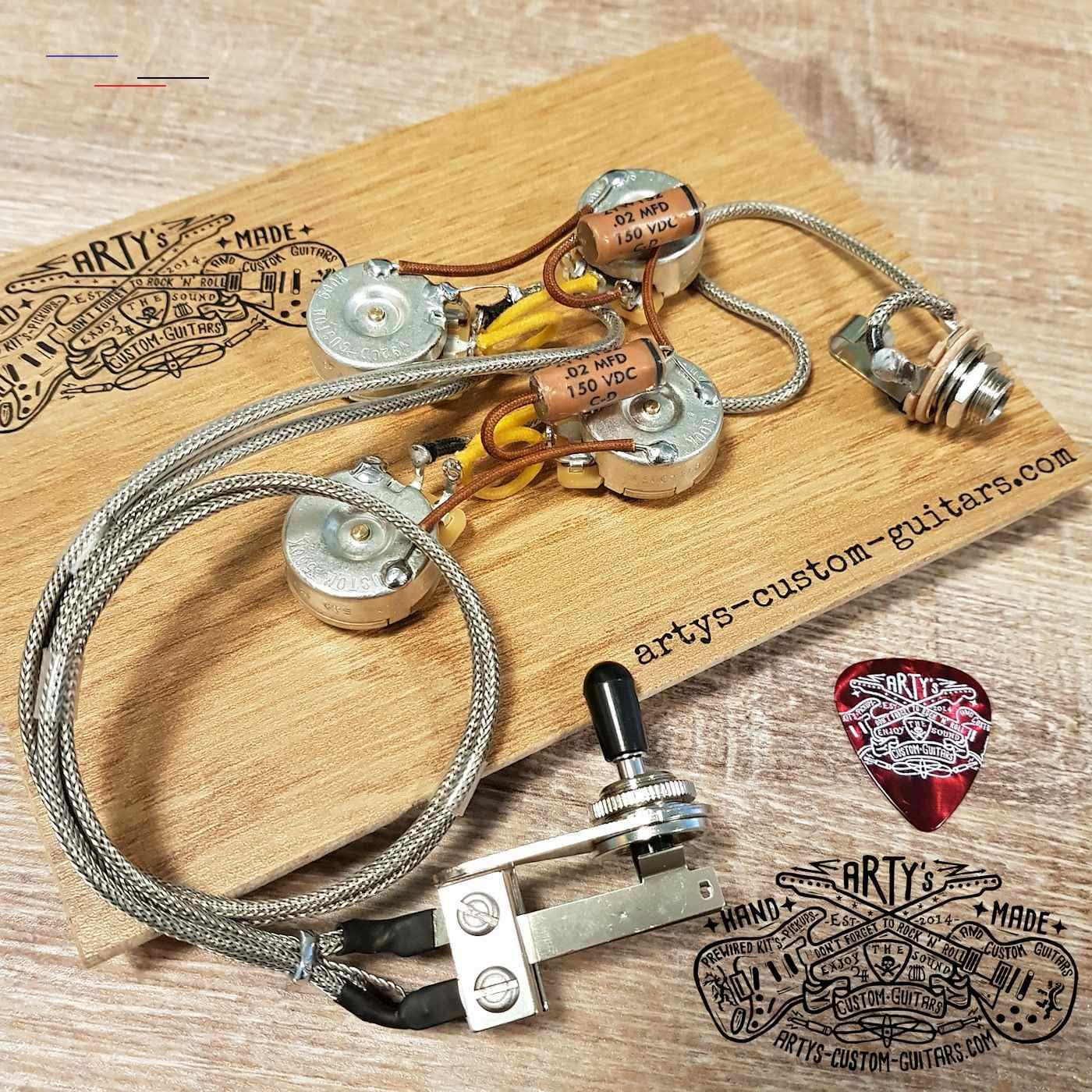 Wiring Harness Telecaster Deluxe Customguitars This Prewired Kit Fits Perfectly For The Tele Deluxe Models The Standard Wiring Is The Same As The 1972 Mod En 2020