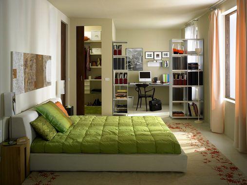 Fai da te camera da letto: arredo salvaspazio