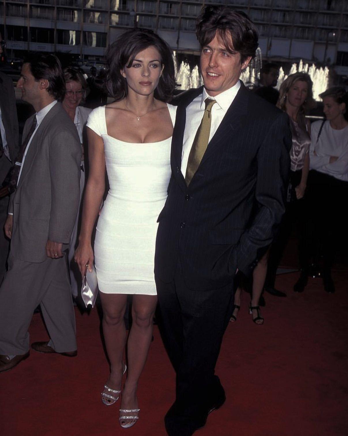 Pin By Sedona On Hugh Grant In 2020 Hugh Grant Elizabeth Hurley Hot Couples