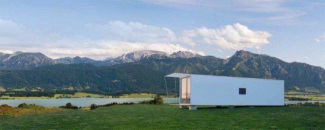 Modulhaus minihaus cube so schl ft deutschland haus for Mobiles wohnen im minihaus