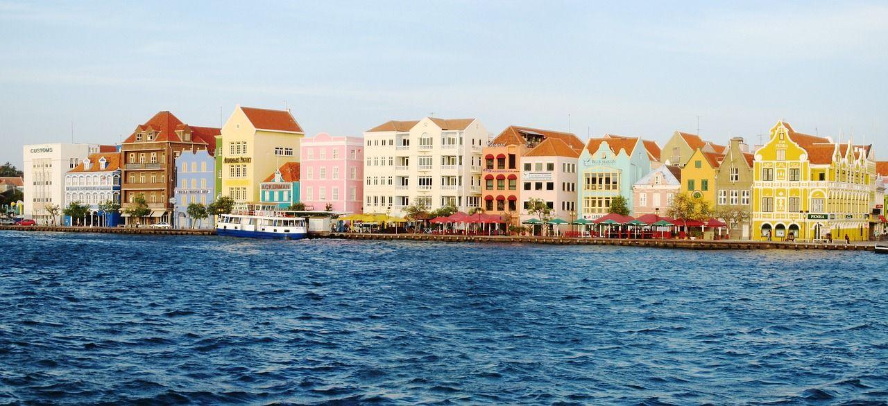 Island, Willemstad Punda Sint Annabaai Curacao Abc island