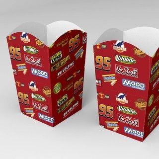 Ideas para candy bar de Cars. Armá estas cajitas pocgoleras con nuestro kit para imprimir!
