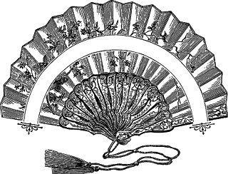 Abanico Clip Art Vintage Hand Fan Vintage Images