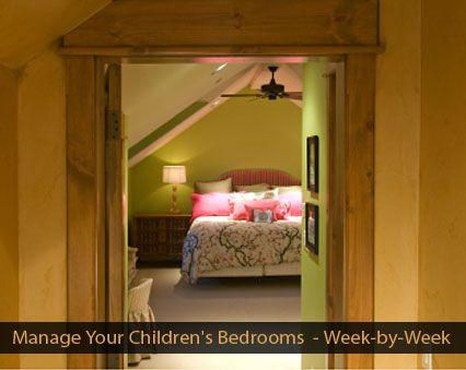 Week-by-Weel Plan to Managing Your Children's Bedrooms