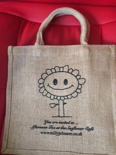 And I have smiley bags.  Designed by a smiley bag.