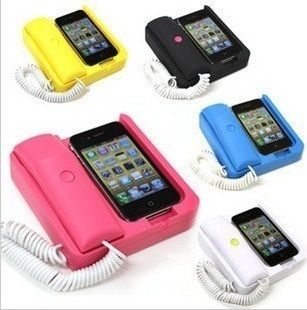 I found iPhone Home Phone Design - Handset on Wish, check it out ...