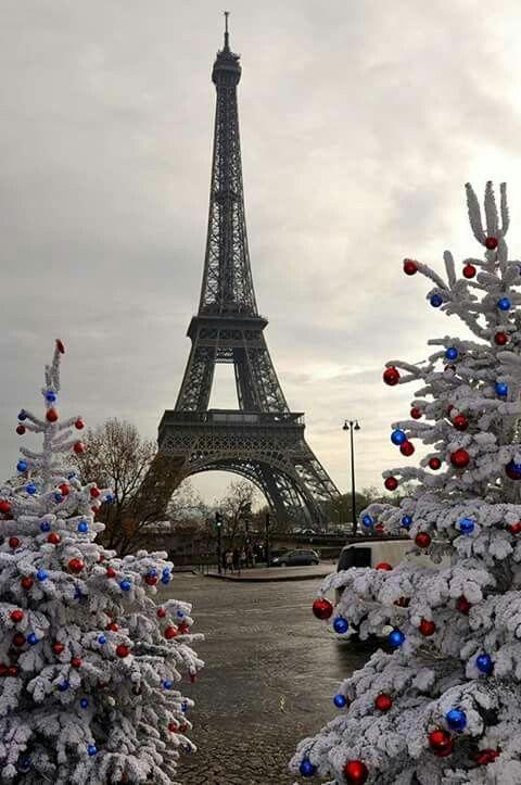 Noël à la Tour Eiffel