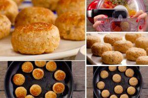Croquettes saumon-parmesan #terrinedesaumon