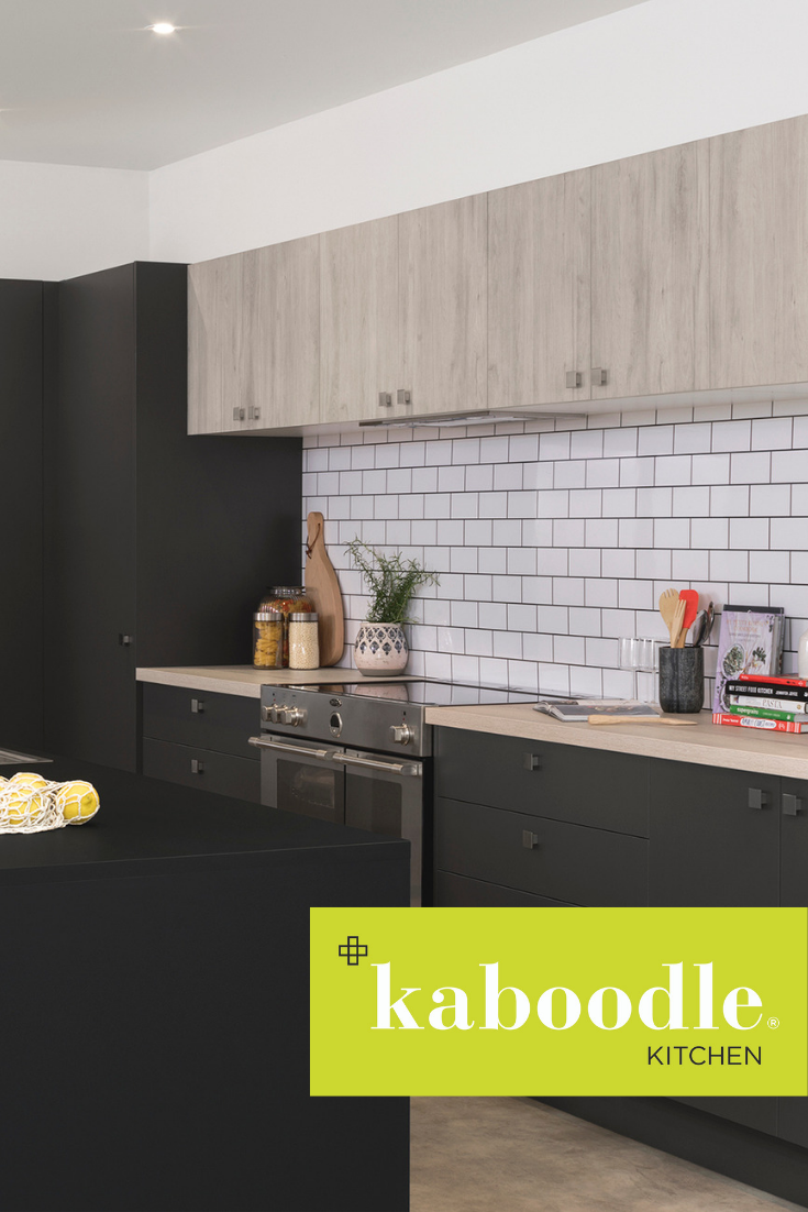 When Textured Timber Look Tones Come Together With Dark Matt Surfaces It S A Modern Showcase Like Timber Benchtop Kitchen Timber Kitchen Kitchen Inspirations