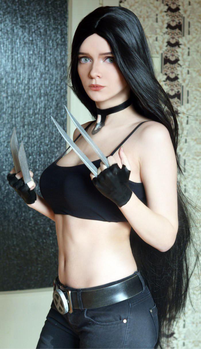Cosplay Laura Kinney (X-23)