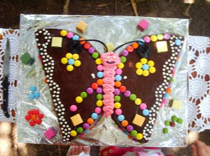 gâteau papillon | gâteau rigolos | tarte anniversaire, gateau