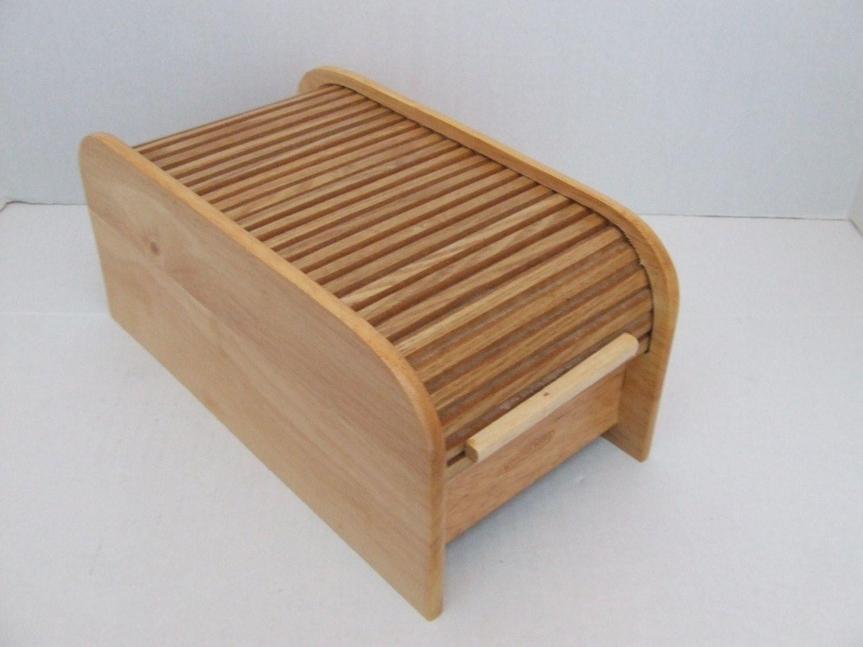 Vintage Large Wooden Box Wooden Box Wooden Recipe Box Recipe Box