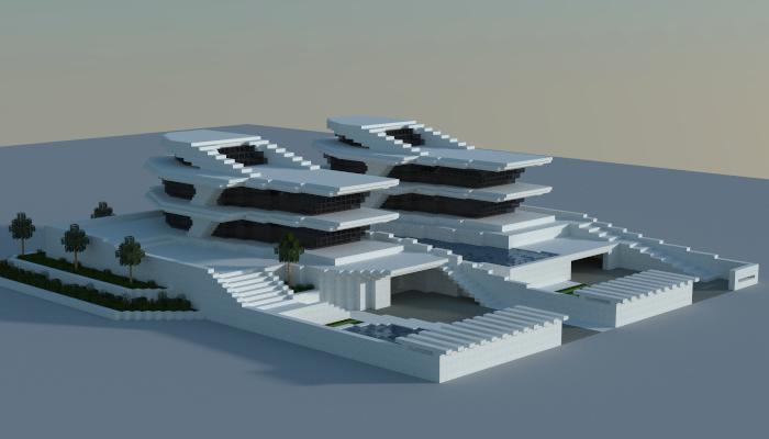 Futuristic Minecraft Building Schematics Diy Enthusiasts Wiring
