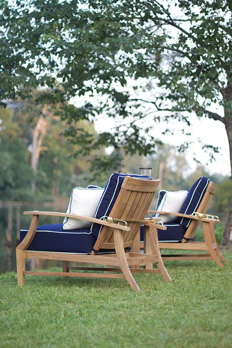 The Croquet #teak #outdoor #furniture Collection Is Also Available From The Tin  Roof