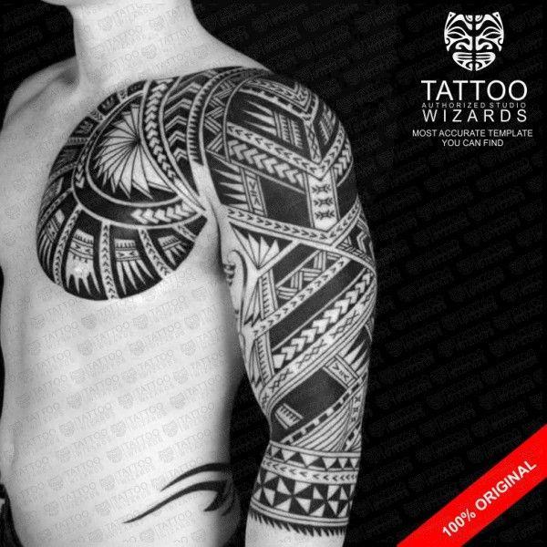 Samoan Archer Warrior Tattoo Tattoo Wizards Tribal Tattoos For