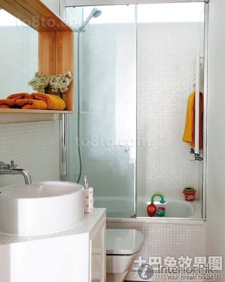 Effect of wet and dry separation of bathroom decoration pictures