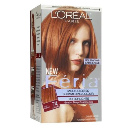 L Oreal Paris Feria Permanent Hair Color With Images Feria