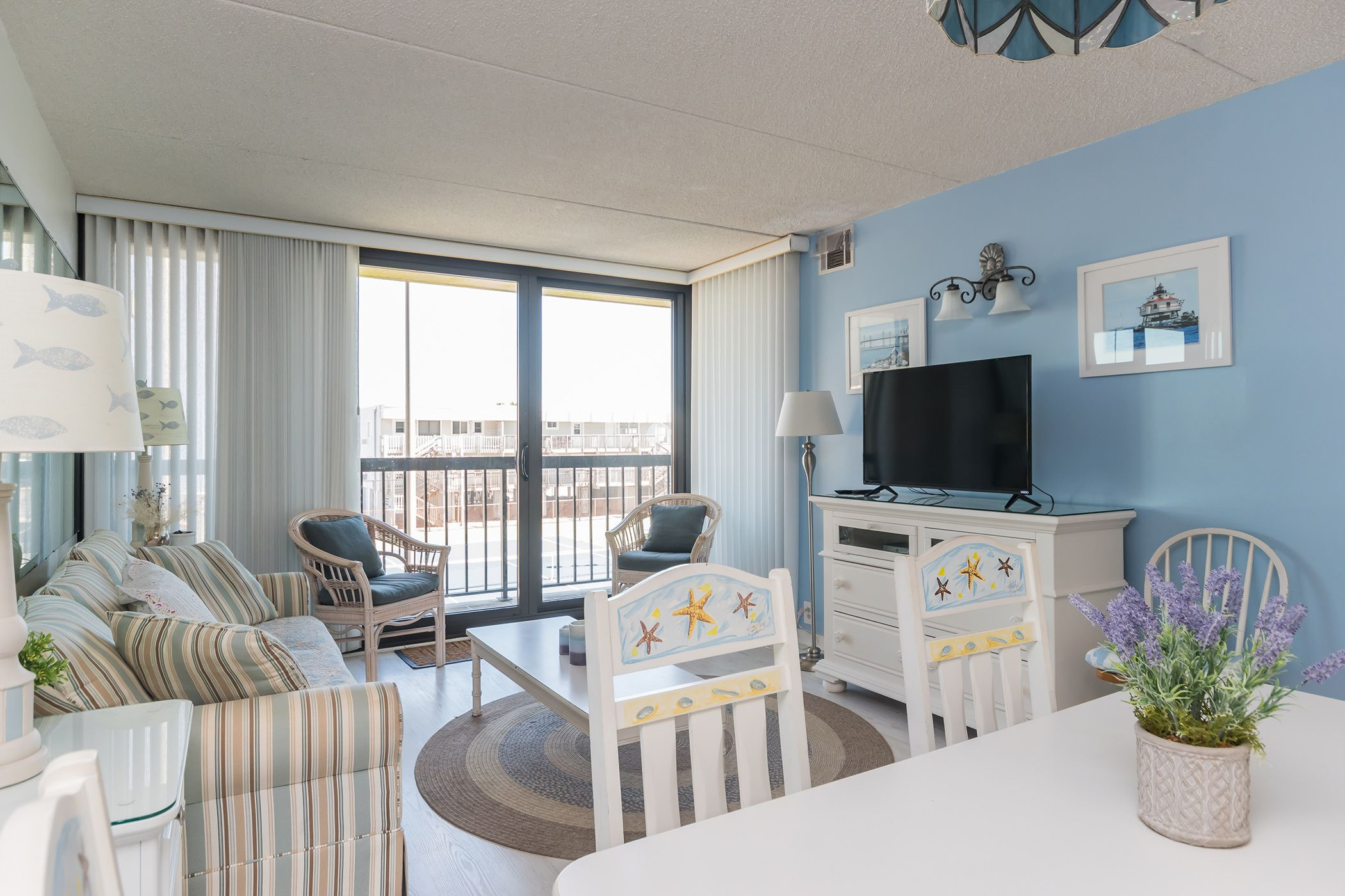 Family Area Twin Trundle Bed Sleep Sofa Ocean City Rentals
