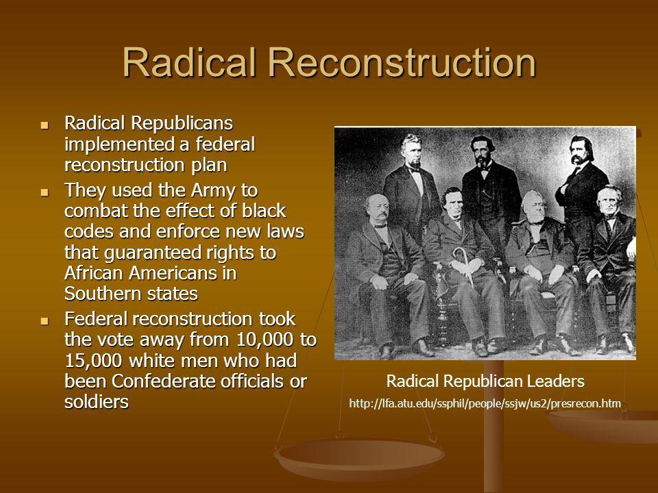 Radical Republican Reconstruction Pinterest History American
